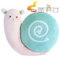 蓝伊仕厂家直销新款毛绒玩具 创意小蜗牛 4色可选 超柔面料