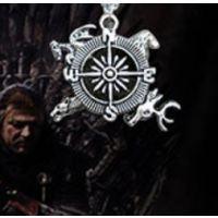 冰与火之歌 权力游戏权力灵感翠园吊坠项链游戏介绍主题的指南针