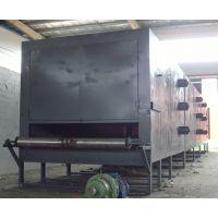 供应煤球烘干机 网带烘干机 三层不锈钢网带燃煤加热烘干机 荣达牌