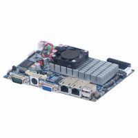 提坦科技3.5寸嵌入式主板、板载ATOMD525工控主板、双网POS工控主板
