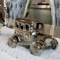 【查理曼G】欧式现代装饰品豪华样板间摆件不锈钢老爷车