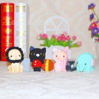【厂家直销】马戏团动物笔插 新品 树脂节日礼品 工艺品摆件批件