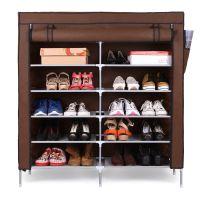 海乐双排7层鞋架 组合鞋柜 简易鞋架 大鞋柜 布鞋柜  批发 可代发