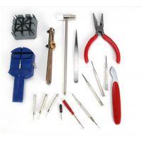 供应16件修表工具组合工具钟表手表维修工具手表套装修理工具