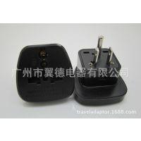美式万用孔插座 旅行礼品转换插 带儿童保护门美规旅游插头 YDS-5