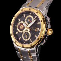 供应广州品牌手表批发 贴牌高档商务瑞士机械表 免费代理男士钢带休闲手表 一件代发