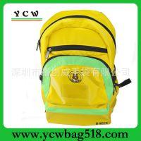深圳手 袋厂 专业生产 过胶尼龙书包 外贸双肩背包 休闲双肩书包