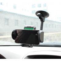 车用手机架车载GPS导航架360度可旋转调节带吸盘汽车内饰热卖用品