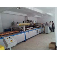 供应专业印刷汽车玻璃线印机 高效穿梭式钱自动丝印机