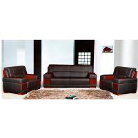 合肥厂家销售 办公沙发 皮制简约三人位沙发