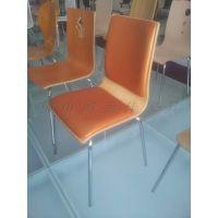软座弯木餐椅,带皮垫弯木餐椅,广东佛山鸿美佳弯木餐椅厂家出售