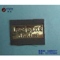 供应杭州皮标厂家 订制皮标厂家 服装皮标厂家