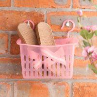 出口日本新加坡热销奇奇乐 清洁收纳篮 双购篮 洗浴用整理篮
