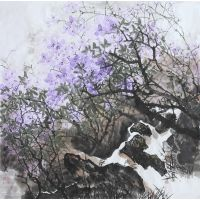 中国传统精美花鸟画