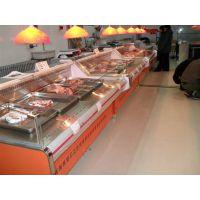 鲜肉冷藏展示柜、平口鲜肉柜、保鲜鲜肉陈列柜/佳伯鲜肉柜