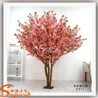 供应影楼摄影装饰仿真树 人造樱花树 植物工艺品