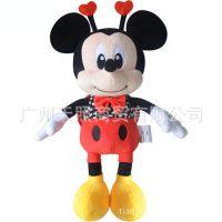 迪士尼正品米奇公仔毛绒玩具米老鼠压床婚庆娃娃创意可爱礼物女
