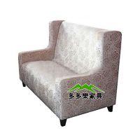 高背卡座沙发 火锅店卡座沙发 欧式风格 美观舒适耐磨
