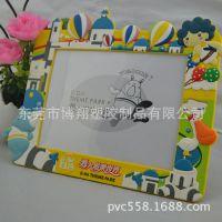 东莞厂家直销 3D立体软胶相框  2014款卡通相框 迪士尼授权