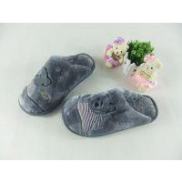 【爆款】批发旺家小熊超柔情侣款棉鞋冬季保暖 室内包跟棉拖鞋