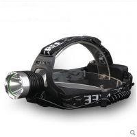 T6头灯强光远射18650充电LED户外钓鱼灯矿灯夜骑强光头灯