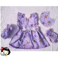 婴儿罩衣 防水饭衣 韩版娃娃衣 反穿衣 饭衣 厂价批发 可定做