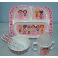 供应密胺碗 密胺  密胺分餐盘 儿童印花或色料密胺餐具(图)