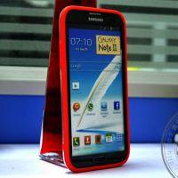 现货批发 TPU+PC透色手机中框 三星N7100手机Bumper信号圈边框