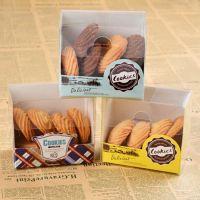 烘焙包装 中号透明塑料曲奇饼干蛋糕西点中秋月饼包装礼盒 X92