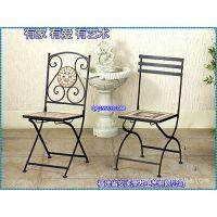 滢发铁艺座椅 欧式 马赛克椅面 时尚 休闲座椅 居家必备 可定做15