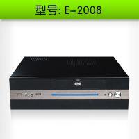 立人E-2008 迷你ITX机箱、工控机箱、Micro机箱、含300W电源