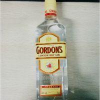 洋酒 英国哥顿金酒 哥顿毡酒 杜松子金酒GORDON'S 伦敦酒 塑料盖