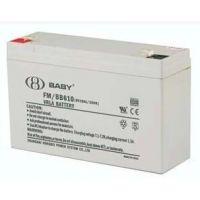 BABY蓄电池|FM/BB10|鸿贝6V10AH电池|BABY电池代理销售