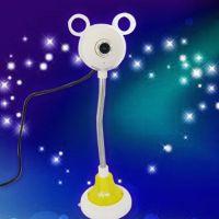 新品乐观数码摄像头USB高清网络视频带麦克风七彩呼吸灯厂家批发