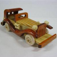 木质小轿车8寸 老爷车 新婚佳人礼物 家居橱柜 装饰品