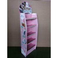 供应纸质湿巾纸展架(纸货架、纸堆头、纸展示架、地堆头、纸展架)