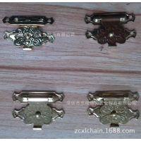 箱包锁扣批发 金属压花箱包搭扣 箱包配件 厂家直销