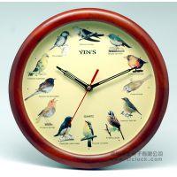 新品实木钟、卡通木钟、实木工艺钟、阿里巴巴木钟批发