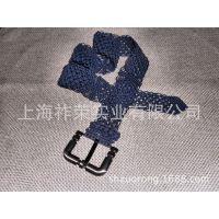 厂家加工手工打结编织腰带 亮片女士腰带 腊绳腰带 米珠串珠腰饰