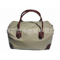 深圳龙岗手袋厂 生产帆布旅行包 时尚休闲包
