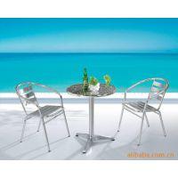 铝家具 铝椅 展会椅 户外休闲家具 堆叠椅 休闲洽谈小桌子咖啡桌椅展会出租桌椅户外桌椅不锈钢桌椅铝桌