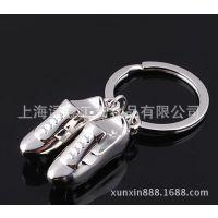 世界杯礼品 仿真运动跑鞋钥匙扣挂件 创意钥匙链 球鞋钥匙扣