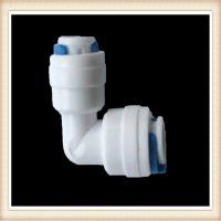 4044 L型双通 净水器配件接头 塑料 快接式 2分接头