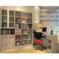 中山专业生产办公家具之书柜系列厂家订做书房家具