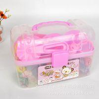 韩国文具批发 得力7021彩泥 24色彩泥套装玩具 儿童橡皮泥202471