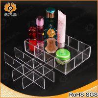 厂家直销透明简约收纳用品 机玻璃化妆品储物盒 亚克力储物盒