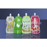 供应250ML牛奶包装袋/吸嘴袋/300毫升豆奶包装袋
