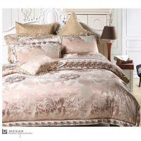 雪莉尔四件套 带宽边绣花纯棉全棉被套床单品牌家纺厂家礼品团购