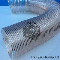 TPU压缩拉伸钢丝软管-TPU钢丝管,高伸缩软管,折叠软管,拉伸软管,拉缩软管,缠绕软管,伸长软管
