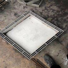 金裕 江苏供应不锈钢雨水井盖厂家 热力井盖定制